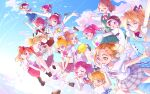 6+girls :d :o ;d @_@ ^_^ ^o^ aida_mana aino_megumi arm_grab asahina_mirai blue_sky blush blush_stickers broom broom_riding closed_eyes closed_mouth clouds cloudy_sky color_connection commentary_request day dokidoki!_precure floating floating_hair flying fresh_precure! futari_wa_precure futari_wa_precure_splash_star go!_princess_precure hanadera_nodoka hanasaki_tsubomi happinesscharge_precure! haruno_haruka healin'_good_precure heart heart_hands heartcatch_precure! highres holding_hands hoshina_hikaru hoshizora_miyuki houjou_hibiki hug hugtto!_precure hyuuga_saki interlocked_fingers kirakira_precure_a_la_mode knees_up looking_at_another looking_at_viewer looking_away looking_to_the_side mahou_girls_precure! misumi_nagisa momozono_love multiple_girls nono_hana one_eye_closed open_mouth precure precure_all_stars saki_(maichocho) scared sky smile smile_precure! spiral_eyes star_twinkle_precure suite_precure sunlight surprised trait_connection usami_ichika waist_hug yes!_precure_5 yumehara_nozomi