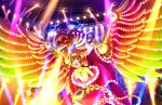 blush brown_eyes brown_hair dress idolmaster_cinderella_girls_starlight_stage phoenix short_hair smile ueda_suzuho