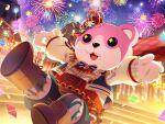 bang_dream! bear dress mascot michelle_(bang_dream!) smile