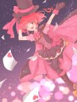 aino_megumi cape cure_lovely gloves happinesscharge_precure! hat mask mask_removed phantom_thief pink_cape precure