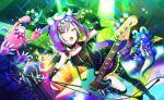 animal_costume blush dress green_eyes grey_hair hinomori_shiho project_sekai short_hair smile