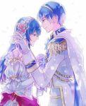 1boy 1girl blue_hair fire_emblem marth marth_(fire_emblem) sheeda