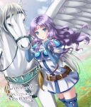 1girl fire_emblem fire_emblem:_blazing_sword fire_emblem:_rekka_no_ken fire_emblem:_the_blazing_blade florina_(fire_emblem) pegasus pegasus_knight purple_hair