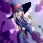 absurdres biting highres huge_filesize little_witch_academia mushroom poison witch