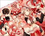 :3 :o alternate_costume animal_bag animal_ears backpack backpack_removed bag black_jacket black_shirt book bow breasts brown_eyes cable cake cat_bag center_frills checkered copyright_name danganronpa_(series) danganronpa_2:_goodbye_despair diaper ear_bow eye_mask fake_animal_ears feet_out_of_frame flipped_hair food frilled_legwear frilled_shirt frills handheld_game_console headphones headphones_removed jacket kneehighs large_breasts light_brown_hair long_sleeves md5_mismatch medium_hair memory_card monomi_(danganronpa) nail_polish_bottle nanami_chiaki neck_ribbon orange_bow pen pink_bag plaid plaid_skirt polka_dot polka_dot_bow red_legwear red_ribbon red_skirt ribbon rotated shirt skirt staff third-party_edit white_shirt