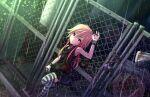 blush brown_hair dress idolmaster_cinderella_girls_starlight_stage long_hair ninomiya_asuka pink_eyes smile