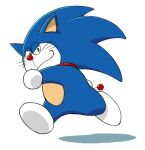 crossover doraemon doraemon_(character) sega sonic_the_hedgehog sonic_the_hedgehog_(series)