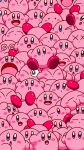 :i @_@ blue_eyes blush_stickers closed_eyes closed_mouth dot_mouth highres kirby kirby_(series) one_eye_closed open_mouth smile too_many x_x yutakunatu