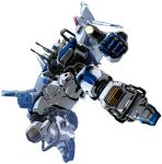 3d akuu_daisakusen_srungle energy_cannon energy_gun mecha mission_outer_space_srungle nakazaki_tou no_humans ray_gun robot science_fiction space_craft srungle_(mecha) weapon