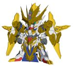 gundam ma_chao_gundam_barbatos official_art sd_gundam_world_heroes sd_gundam_world_sangoku_soketsuden sunrise_(company) sunrise_(studio)