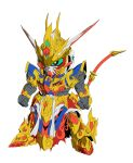 gundam official_art sd_gundam_world_heroes sunrise_(company) sunrise_(studio) wukong_impulse_gundam
