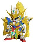 gundam official_art sd_gundam_world_heroes sd_gundam_world_sangoku_soketsuden sunrise_(company) sunrise_(studio) zhao_yun_00_gundam