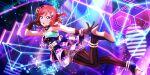 blush cyber gun love_live!_school_idol_festival_all_stars nishikino_maki redhead short_hair smile violet_eyes
