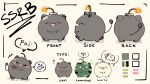 animal_ears cat_ears english_text explosive grenade highres hololive shishiro_botan tagme wakatsuki_misato