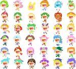 6+boys 6+girls ahoge andou_ringo arii_(puyopuyo) arle_nadja blue_eyes blue_hair brown_eyes brown_hair carbuncle_(puyopuyo) chibi clouds donguri_gaeru draco_centauros drill_hair feli_(puyopuyo) flower glasses green_eyes green_hair grey_hair hair_flower hair_ornament hat heterochromia horns klug_(puyopuyo) lemres_(puyopuyo) lidelle_(puyopuyo) monocle multiple_boys multiple_girls no_lineart official_art open_mouth orange_hair pink_eyes pink_hair purple_hair puyo_(puyopuyo) puyopuyo puyopuyo_quest raffina_(puyopuyo) red_eyes redhead rulue_(puyopuyo) satan_(puyopuyo) schezo_wegey serilly_(puyopuyo) sig_(puyopuyo) smile squirrel transparent_background violet_eyes witch_(puyopuyo) yellow_eyes