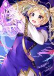 1girl blonde_hair fire_emblem fire_emblem:_awakening fire_emblem:_kakusei lissa_(fire_emblem) lysithea_von_ordelia magic magic_circle pigtails