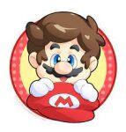 blue_eyes brown_hair mario mario_(series) mario_bros. mustache nintendo nose open_mouth red_hat
