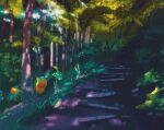 butterfree commentary english_commentary gen_1_pokemon highres metapod pikachu pokemon pokemon_(creature) simone_mandl viridian_forest