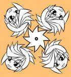 1boy kaya_rio multicolored_hair yuu-gi-ou yuu-gi-ou_arc-v yuugo_(yuu-gi-ou_arc-v)