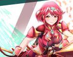 1girl homura_(xenoblade_2) red_eyes short_hair torinosukei xenoblade_(series) xenoblade_2