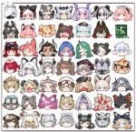 6+boys 6+girls :> :< :o :| aak_(arknights) adnachiel_(arknights) ahoge angelina_(arknights) angry animal_ear_fluff animal_ears annoyed arene_(arknights) arknights artist_logo asbestos_(arknights) aviator_cap bangs beads bear_ears beehunter_(arknights) beeswax_(arknights) black_border black_bow black_hair black_headwear black_horns black_mask blonde_hair blue_bow blue_eyes blue_hair blue_poison_(arknights) blush border bored bow braid brown_eyes brown_hair brown_headwear bunny_hair_ornament c: cat_boy catapult_(arknights) closed_eyes closed_mouth courier_(arknights) cow_horns curly_hair dark_skin dark_skinned_female dark_skinned_male deer_ears depressed dog_boy dog_ears drill_hair ear_piercing ears_through_headwear ethan_(arknights) expressionless exusiai_(arknights) eyebrow_piercing eyebrows_visible_through_hair eyepatch eyjafjalla_(arknights) face facial_hair fang fangs feater_(arknights) feather_hair fire_helmet flight_goggles flower folinic_(arknights) fox_ears freckles frostleaf_(arknights) furrowed_eyebrows furry glaring glasses goat_ears goat_horns goatee goggles goggles_on_head gravel_(arknights) green_eyes green_hair grey_eyes grey_hair greythroat_(arknights) greyy_(arknights) gummy_(arknights) hair_beads hair_bow hair_flower hair_ornament hair_over_one_eye hairclip half-closed_eyes halo happy hat headphones headset highres hood hood_up horns horns_through_headwear hoshiguma_(arknights) hung_(arknights) ifrit_(arknights) iris_(arknights) istina_(arknights) jaye_(arknights) jewelry jitome leopard_ears licking_lips light_blue_eyes light_blue_hair lion_ears long_hair looking_at_viewer lower_teeth mask matterhorn_(arknights) messy_hair military_hat mohawk monocle mountain_(arknights) multicolored multicolored_eyes multicolored_hair multiple_boys multiple_girls myrrh_(arknights) nervous ninja_mask no_mouth one_eye_covered oni_horns open_mouth orange_bow orange_eyes oripathy_lesion_(arknights) owl_ears panda_ears piercing pink_eyes pink_hair pink_ribbon pipidan pointy_ears ponytail popukar_(arknights) pramanix_(arknights) ptilopsis_(arknights) purestream_(arknights) purple_hair rabbit_ears raccoon_ears raised_eyebrow red_bow red_eyes redhead ribbon ringlets robin_(arknights) round_eyewear scar scar_on_cheek scar_on_face serious shamare_(arknights) shirayuki_(arknights) short_hair short_twintails shouting side_braid sidelocks siege_(arknights) simple_background single_earring single_horn skin_fang skin_fangs smile smug spiky_hair spot_(arknights) star_(symbol) star_hair_ornament stoat_ears straight_hair streaked_hair striped_headband surprised sussurro_(arknights) sweatdrop swept_bangs swire_(arknights) tan teeth tiger_ears tongue tongue_out twintails two-tone_fur two-tone_hair upper_teeth utage_(arknights) vigna_(arknights) violet_eyes visor_cap vulcan_(arknights) waai_fu_(arknights) white_background white_hair white_headwear x_hair_ornament yellow_bow yellow_eyes zima_(arknights)