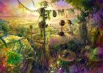 adventure armor clothesline fantasy helmet kids plants scenery