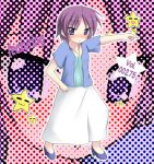 blush hiiragi_inori lucky_star purple_hair short_hair six_alchemy tekehiro