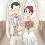 bettie_(pokemon) giovanni_(pokemon) pokemon pokemon_(game) pokemon_masters_ex sakakisamabz wedding
