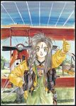 aa_megami-sama aeroplane belldandy girl long_hair