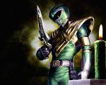 1boy candle dragon_ranger epic green_ranger kyouryuu_sentai_zyuranger power_rangers super_sentai