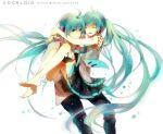 1boy 1girl crypton_future_media cute female genderswap genderswap_(ftm) hatsune_miku hatsune_mikuo male tagme vocaloid yamaha_(company)