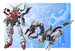 altron_gundam dragon engrish gundam gundam_wing mecha ranguage shenlong_gundam standing text transformation yanagi_joe zoom_layer