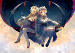 2girls absurdres baozishark gap_(touhou) highres multiple_girls saigyouji_yuyuko touhou yakumo_yukari