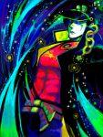 belt colorful gakuran green_eyes hat jojo's_bizarre_adventure jojo_no_kimyou_na_bouken kujo_jotaro kuujou_joutarou male oekaki school_uniform solo sparkle ss_kankon star tegaki