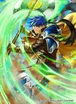 1boy armor axe cape company_name fire_emblem fire_emblem:_path_of_radiance fire_emblem_cipher fire_emblem_heroes gloves headband holding holding_axe ike_(fire_emblem) incoming_attack kita_senri looking_at_viewer official_alternate_costume official_art