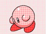1other :d animated cute dancing english_commentary flipnote_studio_(medium) french_commentary hal_laboratory_inc. hoshi_no_kirby keke_(kokorokeke) kirby kirby_(series) kirby_(specie) lowres mixed-language_commentary monochrome nintendo no_humans open_mouth pink_theme smile solo