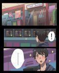! 1boy black_hair blush box figure highres hood hoodie jourd4n one-punch_man original shop spoken_exclamation_mark star_(symbol) tatsumaki
