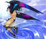 cars_(jojo) jojo's_bizarre_adventure jojo_no_kimyou_na_bouken long_hair male wings