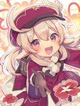 1girl commentary_request genshin_impact highres klee_(genshin_impact) shirase_(shirose) solo