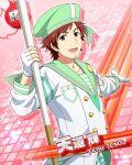 cap character_name dress idolmaster idolmaster_side-m red_eyes redhead short_hair smile tendou_teru