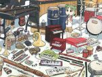 azuma_kiyohiko koiwai_yotsuba music tagme yotsubato!