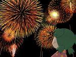azuma_kiyohiko fireworks koiwai_yotsuba tagme yotsubato!