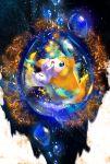 :o black_eyes commentary creature ekm full_body gen_3_pokemon highres jirachi mythical_pokemon no_humans pokemon pokemon_(creature) solo star_(symbol)