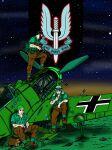 desert gun highres machine_gun messerschmitt military weapon world_war_ii
