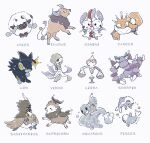 :3 :d baltoy blush bubble claws closed_mouth decidueye gardevoir gen_1_pokemon gen_3_pokemon gen_4_pokemon gen_6_pokemon gen_7_pokemon gen_8_pokemon kingler luxray minun open_mouth pitcher plusle pokemon pokemon_(creature) simple_background skiddo skorupi smile sparkle squirtle star_(sky) star_(symbol) tauros water weights white_background wishiwashi wishiwashi_(solo) wooloo yurano_(upao) zodiac