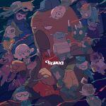 4girls abry_take animal ape baba_atsuya baseball_cap black_eyes blue_eyes cat character_request check_character commentary daimon_kenshirou daimon_koushirou dobu_(odd_taxi) dog giraffe glasses gorilla gouriki_ayumu hat highres hoshizuki_shin ichimura_shiho idol imai_shun kabasawa_taichi kakihana_eiji koshianpancake long_sleeves mask mask_on_head mitsuya_yuki multiple_boys multiple_girls nagashima_satoshi nikaidou_rui odd_taxi odokawa_hiroshi open_mouth police police_uniform print_shirt ptb_3 red_shirt sekiguchi_(odd_taxi) shibagaki_kensuke shirakawa_miho shirt short_hair short_sleeves smile sweater uniform wadagaki_sakura walrus yamamoto_fuyuki yano_(odd_taxi)