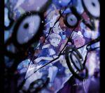 2girls ahoge bangs blue_dress blue_ribbon blue_skirt blurry blurry_foreground brown_footwear brown_hair closed_eyes commentary_request delia_ketchum dress entei eyebrows_visible_through_hair flaaffy gen_2_pokemon hair_ribbon hanenbo highres holding_person hug legendary_pokemon light_beam light_particles long_hair mary_janes molly_hale multiple_girls phanpy pink_shirt pokemon pokemon_(anime) pokemon_(classic_anime) pokemon_(creature) pokemon_m03 ponytail ribbon shirt shoes short_hair signature sitting sitting_on_lap sitting_on_person skirt sleeping teddiursa thigh-highs unown white_legwear white_shirt