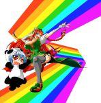 hokuto_(artist) hokuto_(scichil) hong_meiling panda_costume rainbow remilia_scarlet touhou