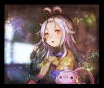 1girl antenna_hair d-pad d-pad_hair_ornament haiki_(hakkyoii06) hair_ornament jacket kototsuki_teto long_hair open_beta_(vtuber) rev. silver_hair solo stuffed_toy virtual_youtuber