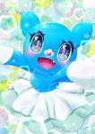 aije blush brionne fang gen_7_pokemon happy heart heart_in_eye highres looking_at_viewer no_humans open_mouth pokemon pokemon_(creature) smile symbol_in_eye
